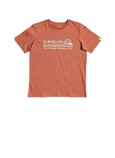Quiksilver Quiksilver Çocuk Tişört Eqbzt04144 EQBZT04144-MNL0003 Kırmızı